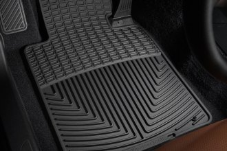 WeatherTech® W24 - All-Weather Floor Mats (1st Row, Black)