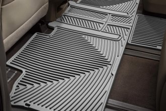 WeatherTech® W244GR - All-Weather Floor Mats (2nd Row, Gray)