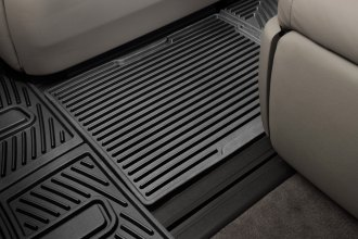 WeatherTech® W247 - All-Weather Floor Mats (Center Aisle, Black)