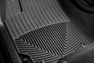 WeatherTech® W255 - All-Weather Floor Mats (1st Row, Black)