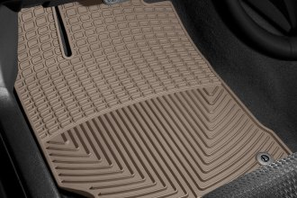 WeatherTech® W255TN - All-Weather Floor Mats (1st Row, Tan)