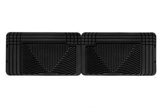 WeatherTech® W25 - All-Weather Floor Mats (2nd Row, Black)