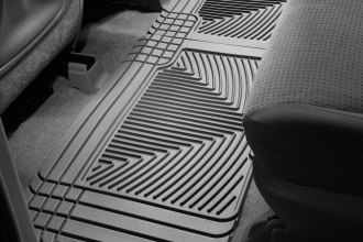 WeatherTech® W25GR - All-Weather Floor Mats (2nd Row, Gray)