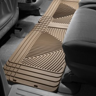 WeatherTech® - All-Weather 2nd Row Tan Floor Mats