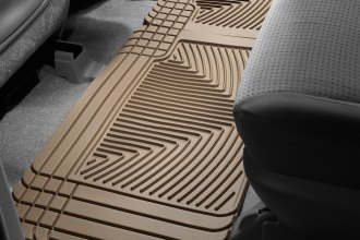 WeatherTech® W25TN - All-Weather Floor Mats (2nd Row, Tan)