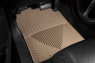 WeatherTech® W26TN - All-Weather Floor Mats (1st Row, Tan)