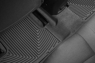 WeatherTech® W277 - All-Weather Floor Mats (2nd Row, Black)