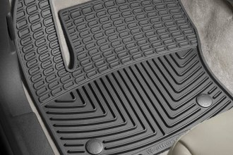 WeatherTech® W283 - All-Weather Floor Mats (1st Row, Black)