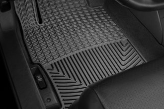 WeatherTech® W293 - All-Weather Floor Mats (1st Row, Black)