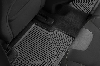 WeatherTech® W317 - All-Weather Floor Mats (2nd Row, Black)