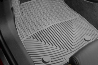 WeatherTech® W318GR - All-Weather Floor Mats (1st Row, Gray)