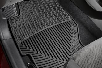WeatherTech® W34 - All-Weather Floor Mats (1st Row, Black)