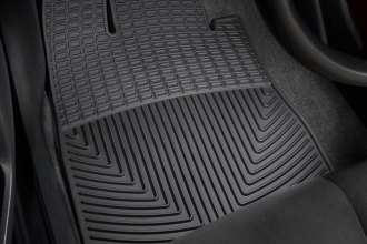 WeatherTech® W36 - All-Weather Floor Mats (1st Row, Black)