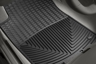 WeatherTech® W37 - All-Weather Floor Mats (1st Row, Black)
