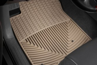 WeatherTech® W39TN - All-Weather Floor Mats (1st Row, Tan)