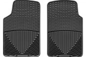 WeatherTech® All-Weather Floor Mats - 1st Row, Black