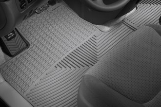 WeatherTech® W41GR - All-Weather Floor Mats (1st Row, Gray)