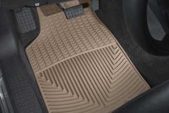 WeatherTech® W47TN - All-Weather Floor Mats (1st Row, Tan)