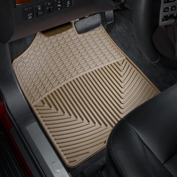 WeatherTech® - All-Weather Floor Mats 1st Row, Tan