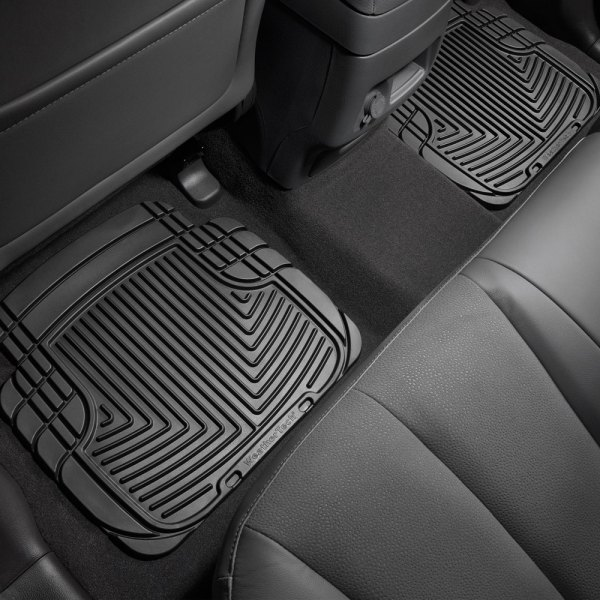 WeatherTech® - All-Weather Floor Mats 2nd Row, Black