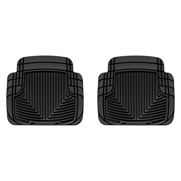 WeatherTech® - All-Weather Floor Mats - 2nd Row, Black