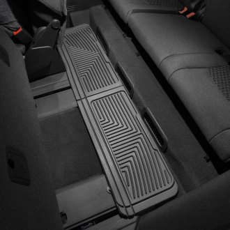 WeatherTech W60 - All-Weather Floor Mats (3rd Row, Black)