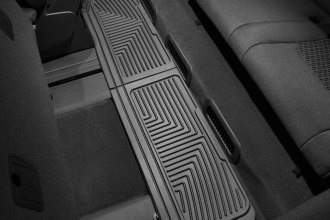 WeatherTech® W60 - All-Weather Floor Mats (3rd Row, Black)