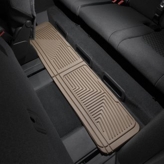 WeatherTech W60TN - All-Weather Floor Mats (3rd Row, Tan)
