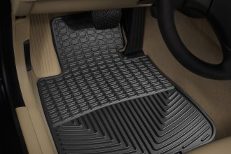 WeatherTech® W61 - All-Weather Floor Mats (1st Row, Black)