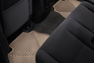 WeatherTech® W70TN - All-Weather Floor Mats (2nd Row, Tan)
