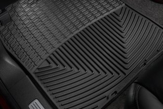 WeatherTech® W72 - All-Weather Floor Mats (1st Row, Black)