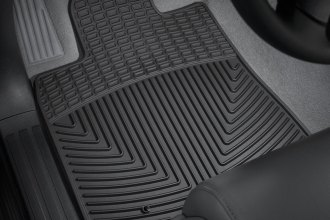 WeatherTech® W76 - All-Weather Floor Mats (1st Row, Black)
