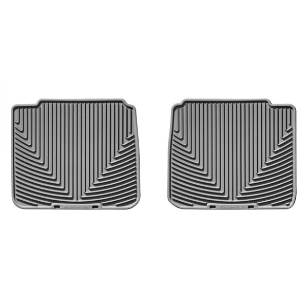 WeatherTech® - All-Weather Floor Mats - 2nd Row, Gray