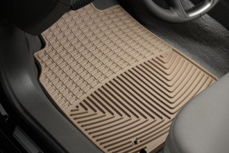 WeatherTech® W89TN - All-Weather Floor Mats (1st Row, Tan)