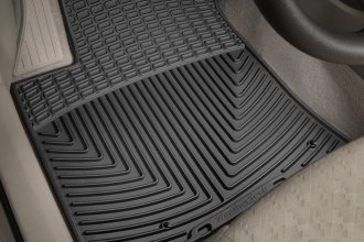 WeatherTech® W96 - All-Weather Floor Mats (1st Row, Black)