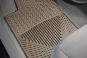 WeatherTech® W97TN - All-Weather Floor Mats (1st Row, Tan)