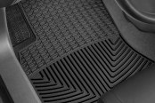 Image may not reflect your exact vehicle! WeatherTech� All-Weather Floor Mats - 1st Row, Black