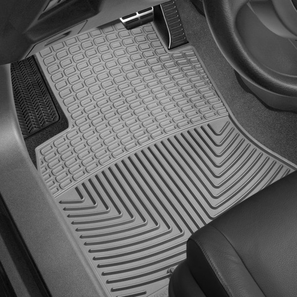 Image may not reflect your exact vehicle! WeatherTech� All-Weather Floor Mats - 1st Row, Gray