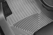 Image may not reflect your exact vehicle! WeatherTech® - All-Weather Floor Mats - 1st Row, Gray