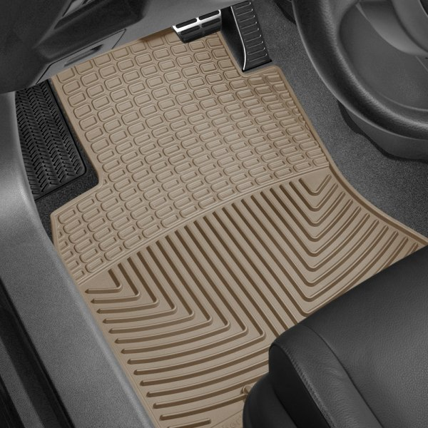 Image may not reflect your exact vehicle! WeatherTech® - All-Weather Floor Mats - Tan