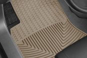 Image may not reflect your exact vehicle! WeatherTech� All-Weather Floor Mats - 1st Row, Tan
