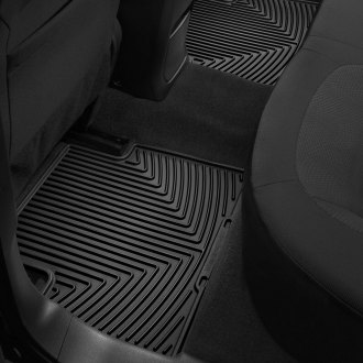 Image may not reflect your exact vehicle! WeatherTech� All-Weather Floor Mats - 2nd Row, Black