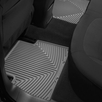 Image may not reflect your exact vehicle! WeatherTech® - All-Weather Floor Mats - 2nd Row, Gray