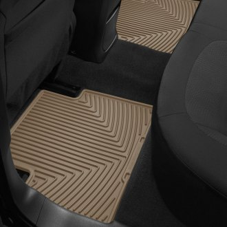 Image may not reflect your exact vehicle! WeatherTech� All-Weather Floor Mats - 2nd Row, Tan