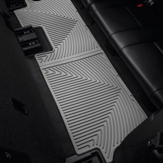 Image may not reflect your exact vehicle! WeatherTech® - All-Weather Floor Mats - 3rd Row, Gray