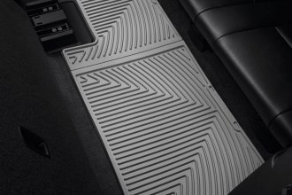 WeatherTech® W264GR - All-Weather Floor Mats (3rd Row, Gray)