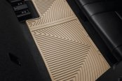Image may not reflect your exact vehicle! WeatherTech® - All-Weather Floor Mats - 3rd Row, Tan