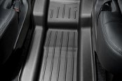 Image may not reflect your exact vehicle! WeatherTech® - DigitalFit™ Molded Floor Liners - Center Aisle, Black