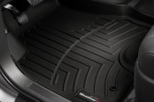 Image may not reflect your exact vehicle! WeatherTech® - DigitalFit™ Molded Floor Liners - 1st Row, Black
