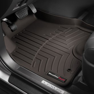 WeatherTech® - DigitalFit™ 1st & 2nd Row Cocoa Molded Floor Liners